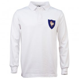 France 1972 Retro Rugby Shirt Away