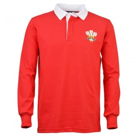 Wales 1976 Retro Rugby Shirt