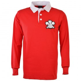 Wales 1905 Retro Rugby Shirt