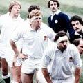 Inglaterra-Escocia rugby años 80