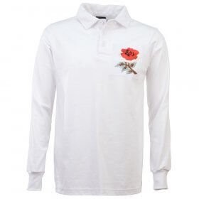 England Retro Rugby Shirt 1910